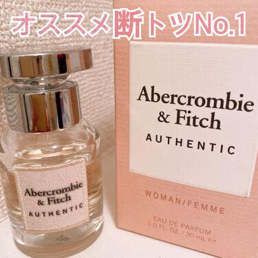 オーセンティックフォーハー/アバクロンビー&フィッチ/香水(レディース)を使ったクチコミ(1枚目)