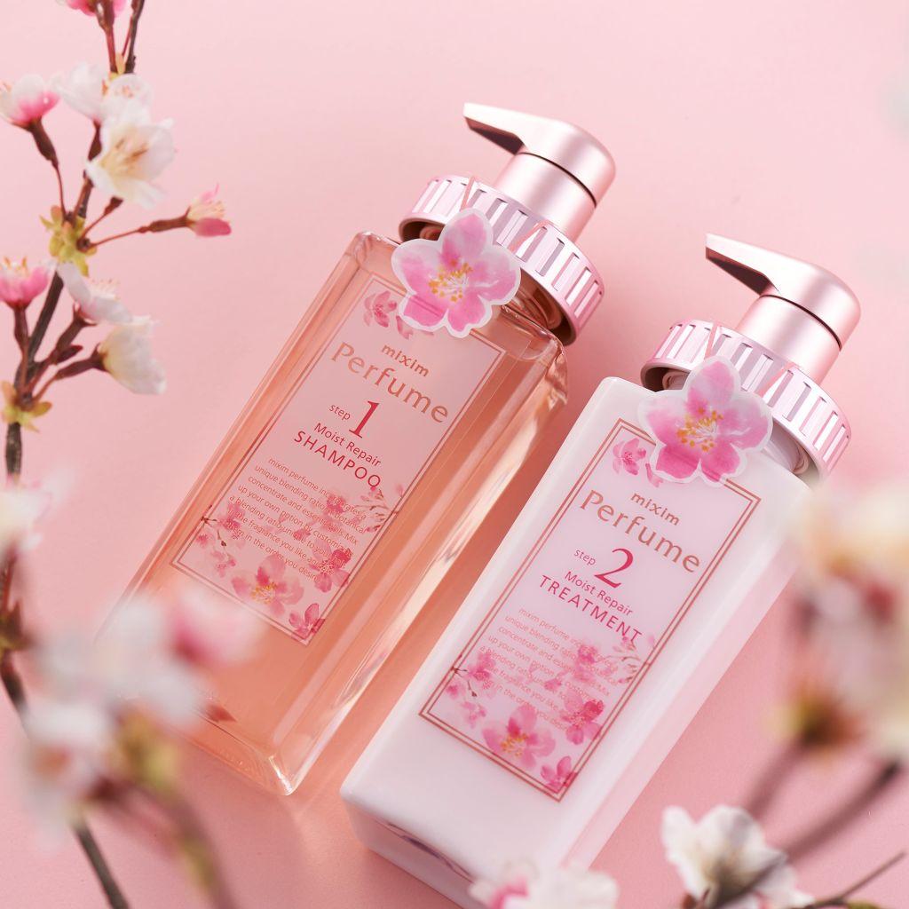 "「mixim Perfume」より、待望の期間限定の""桜フレーバー""セットが新登場✨(2枚目)"