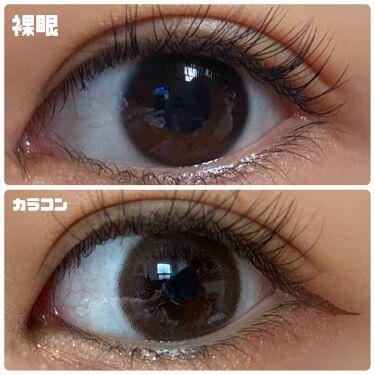 Chu's me 1day/Chu's me/カラーコンタクトレンズを使ったクチコミ(2枚目)