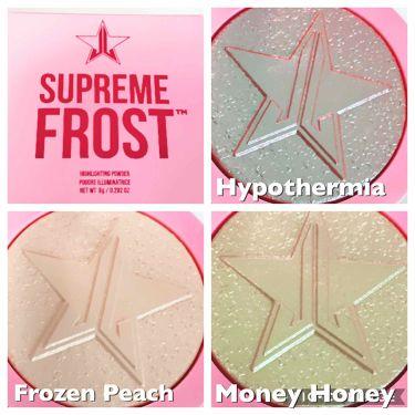 Jeffree star supreme frost/Jeffree Star Cosmetics/パウダーアイシャドウを使ったクチコミ(2枚目)