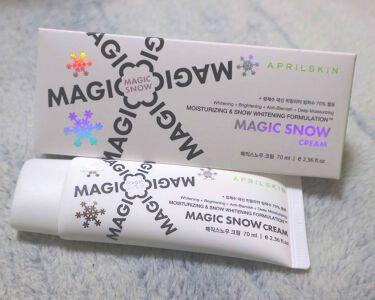 MAGIC SNOW CREAM/APRILSKIN/フェイスクリーム by 나나미