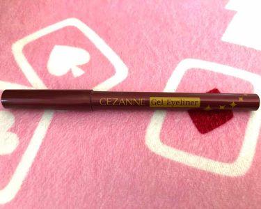 pinkさんの「CEZANNEジェルアイライナー<ジェルアイライナー>」を含むクチコミ