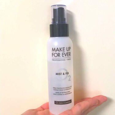 ミスト&フィックス/MAKE UP FOR EVER/ミスト状化粧水を使ったクチコミ(1枚目)