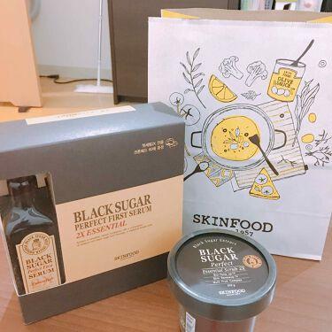 ブラックシュガー パーフェクト エッセンシャル スクラブ2X/SKINFOOD/洗い流すパック・マスクを使ったクチコミ(1枚目)
