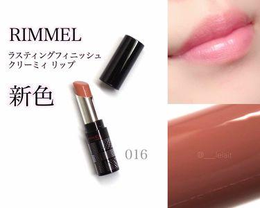 mayukoさんの「リンメルラスティングフィニッシュ クリーミィ リップ<口紅>」を含むクチコミ