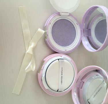 エニークッション カラーコレクター/ETUDE HOUSE/化粧下地を使ったクチコミ(2枚目)