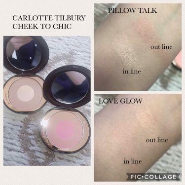 Cheek to Chic/CharlotteTilbury/パウダーチークを使ったクチコミ(2枚目)