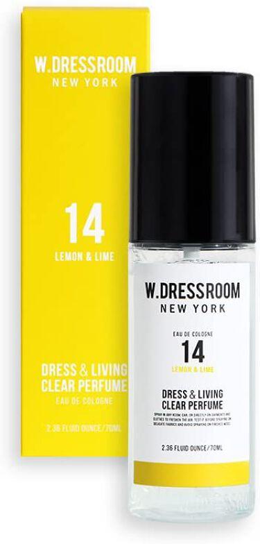 ドレス&リビング クリーン パフューム No.14 レモン&ライム