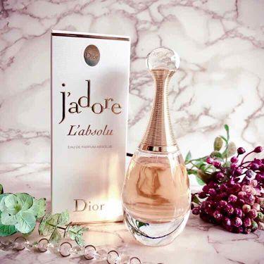 ジャドール アブソリュ/Dior/香水(レディース)を使ったクチコミ(1枚目)