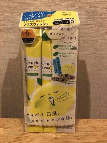 【画像付きクチコミ】磨き残しや口臭の原因となる、タンパク質を固めて洗い出してくれる、口内洗浄液!〇香り:レモン🍋の様な酸っぱい香りと軽いスーとした香り。〇味?:口に含んだ時は、メントールとかの味?よりも、レモン汁の様な酸っぱさが、かなり強めです。〇使用感...