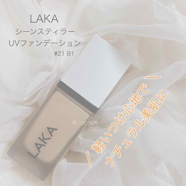 シン スティラー UV ファンデーション /LAKA/リキッドファンデーションを使ったクチコミ(1枚目)