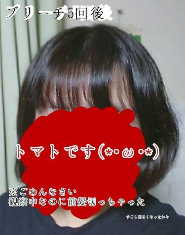 ミストブリーチ/フレッシュライト/ヘアカラー・白髪染め・ブリーチを使ったクチコミ(3枚目)
