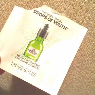 ユースコンセントレート DOY/THE BODY SHOP/美容液を使ったクチコミ(1枚目)