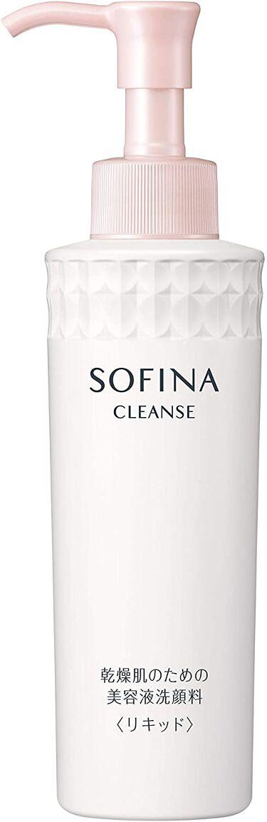 乾燥肌のための美容液洗顔料〈リキッド〉