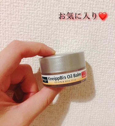 Saekoさんの「クナイプクナイプビオ オイル バーム<フェイスオイル・バーム>」を含むクチコミ