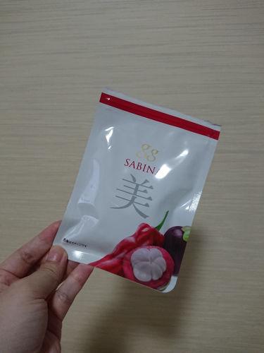 gg SABINA/gg/美肌サプリメントを使ったクチコミ(1枚目)