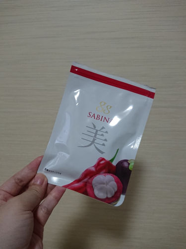 gg SABINA/gg(ジージー)/美肌サプリメントを使ったクチコミ(2枚目)