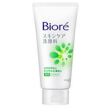 スキンケア洗顔料 薬用アクネケア(旧)/ビオレ/洗顔フォームを使ったクチコミ(1枚目)