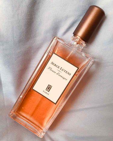 Fleurs d'oranger(オレンジの花)/セルジュ・ルタンス/香水(レディース)を使ったクチコミ(1枚目)