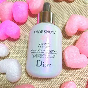 **なつき**♪さんの「Diorスノーエッセンスオブライト<美容液>」を含むクチコミ