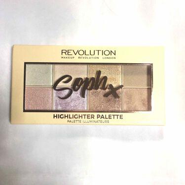 MAKEUP REVOLUTION(メイクアップレボリューション)/アイラブメイクアップ Soph X hightliter Palette