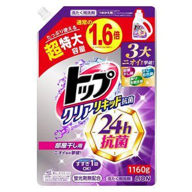 トップクリアリキッド抗菌 つめかえ用超特大1,160g