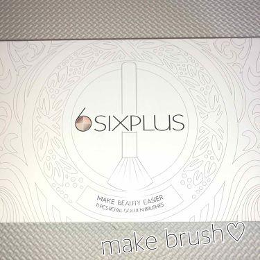 HARUNANさんの「SIXPLUS貴族のゴールドメイクブラシ<メイクブラシ>」を含むクチコミ