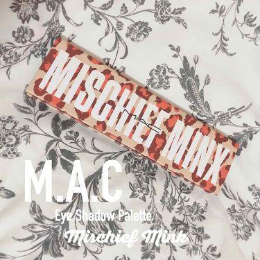 ミスチーフ ミンクス/M・A・C/パウダーアイシャドウを使ったクチコミ(1枚目)