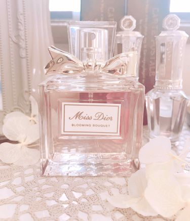 Tama さんの「ディオールミス ディオール ブルーミング ブーケ(オードゥトワレ)<香水(レディース)>」を含むクチコミ