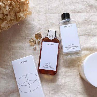 ブロッコリーエキス/ONE THING/化粧水を使ったクチコミ(1枚目)