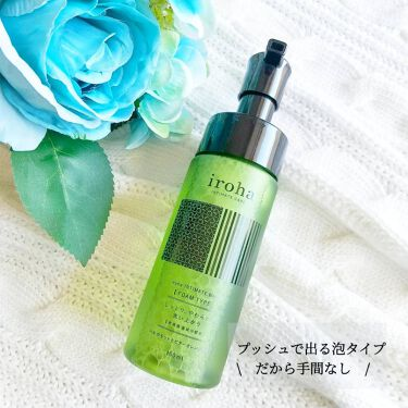 iroha INTIMATE WASH FOAMTYPE/iroha INTIMATE CARE/その他生理用品を使ったクチコミ(2枚目)