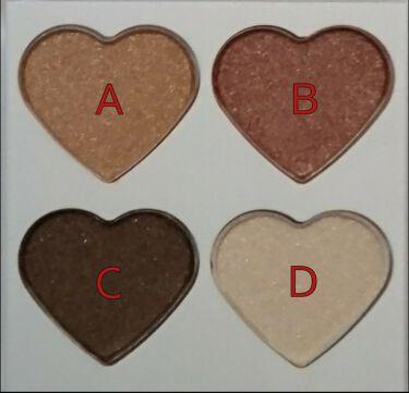 4色アイシャドウ/CandyPopmake/パウダーアイシャドウを使ったクチコミ(2枚目)