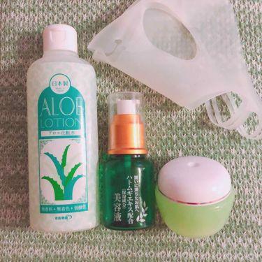 アロエ化粧水 スキンローション AL/若肌物語/化粧水を使ったクチコミ(1枚目)