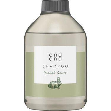 静かに ハーバルグリーンの香り シャンプー つけかえ用(480ml)