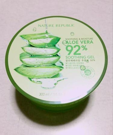 モイスチャーALゲル/ネイチャーリパブリック/ボディローション・ミルクを使ったクチコミ(1枚目)