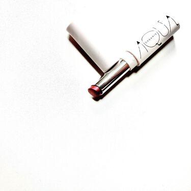 オーガニックリッチカラールージュ/アクア・アクア/口紅を使ったクチコミ(2枚目)