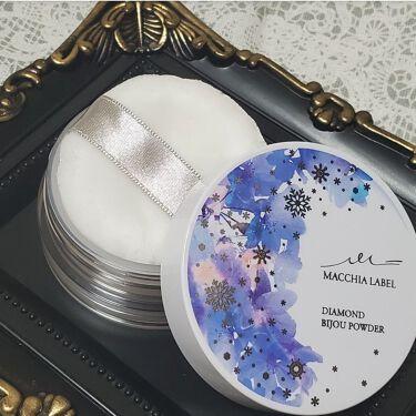 ダイヤモンドビジュパウダー'20/Macchia Label/ルースパウダーを使ったクチコミ(3枚目)