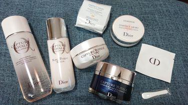 カプチュール トータル インテンシブ ナイトクリーム/Dior/フェイスクリームを使ったクチコミ(2枚目)