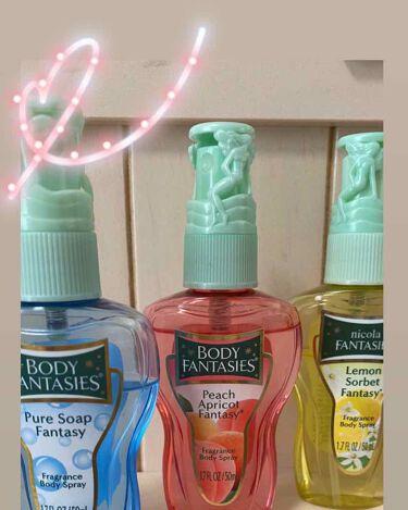ボディスプレー ピーチアプリコット/ボディファンタジー/香水(レディース)を使ったクチコミ(1枚目)