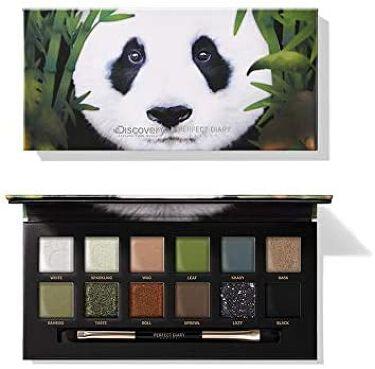 DISCOVERYコラボ 12色 アイシャドウパレット GIANT PANDA