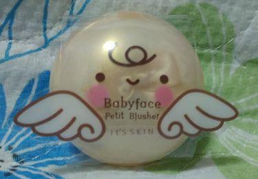 Baby face プチブラッシャー/It's skin/パウダーチークを使ったクチコミ(1枚目)