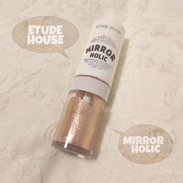 ミラーホリック リキッドアイズ/ETUDE HOUSE/ジェル・クリームアイシャドウを使ったクチコミ(1枚目)