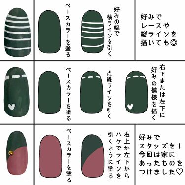 GENEネイル/DAISO/マニキュアを使ったクチコミ(2枚目)