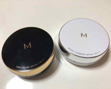 M クッション ファンデーション(プロカバー)/MISSHA/その他ファンデーションを使ったクチコミ(2枚目)
