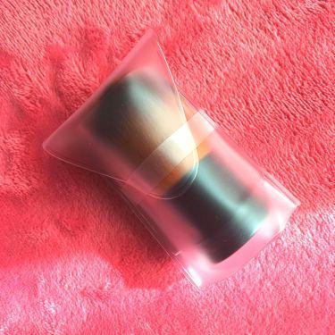 カブキブラシ(全長約7cm)/ETVOS/メイクブラシを使ったクチコミ(3枚目)