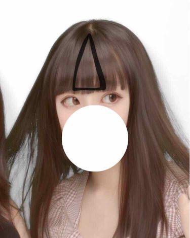 하영 on LIPS 「重め前髪からシースルー前髪にする方法わたしの前髪重め前髪↓シー..」(2枚目)