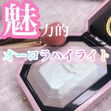 ダイヤモンドライト ハイライター ブラシ/Too Faced/メイクブラシを使ったクチコミ(1枚目)