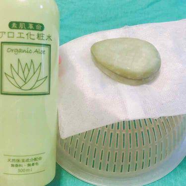 アロエ化粧水 大容量 500mL/NID(日本ドラッグチェーン)/化粧水を使ったクチコミ(1枚目)