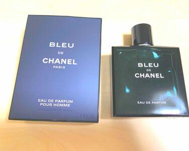 【画像付きクチコミ】.シャネルの香水ってほんといい匂いで好きです❤️これは旦那のだけど女性も使える感じの匂いで買われる方もいるみたい!!匂いの説明が難しいので是非お店で嗅いでみてほしいです🥺🥺3種類ぐらいあって、オードパルファムにしました。#CHANEL...