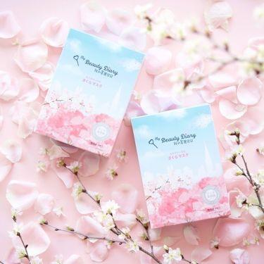 期間限定の「さくらマスク」が日本初上陸!🌸 台湾はもちろんのこと、韓国・香港・アメリカで 話題沸騰中のフェイスマスクです😊💖  ピンクのさくら柄パッケージがとても可愛い💕 まだまだ厳しい寒さが続いていますが、 温かい春のおでかけに備えて、お肌にも自信をつけたいですね💡✨  ピンク色のような明るく、透き通った肌に😇♪♪  あなたに合ったスキンケアで、 最大限の効果を実感して💕  進化したタイニーサム機能➕ふんわりとした桜の香りで 身も心も癒されます🌸   🌸日本産サクラ葉エキスを贅沢に配合🌸   保湿だけでなく外側のストレスからも肌を守り、桜のような自然な透明肌*1へ導きます。    🌸9種類の保湿成分、2種類の整肌成分配合🌸   <保湿成分> ヒアルロン酸Na、ヒドロキシエチルウレア、トリ(カプリル酸/カプリン酸)グリセリル、加水分解コラーゲン、ポリグルタミン酸、乳酸Na   <植物・藻類由来成分> アロエベラ液汁*2、アルニカ花エキス*2、イモセミルエキス*2、カンゾウ根エキス*3、グリチルリチン酸2K*3   全国バラエティーショップ・ドラックストアで限定発売中! ※一部お取り扱いのない店舗もございます。  さくらマスク詳細は我的美麗日記HPをチェック♪♪ ---------------------------------------------------------------- https://mybeautydiary-jp.com/news/2019-02-08/96/   *1乾燥した肌に潤いを与えて、つややかで明るい肌印象に導くこと *2保湿成分 *3整肌成分   #mybeautydiary #我的美麗日記 #私のきれい日記 #シートマスク #フェイスマスク #スキンケア #台湾コスメ #ご褒美マスク #新作コスメ  #期間限定 #自分磨き #大人女子 #女子力アップ #美意識 #春メイク #新生活 #ピンク#cherry #cherryblossom   ♡我的美麗日記HPで最新情報更新中♡ --------------------------------------------------- https://mybeautydiary-jp.com/   ♡Instagramもチェックしてね♡ --------------------------------------------------- https://www.instagram.com/mybeautydiary_jp/